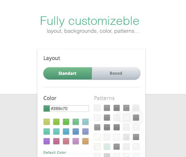 Fully customizeble